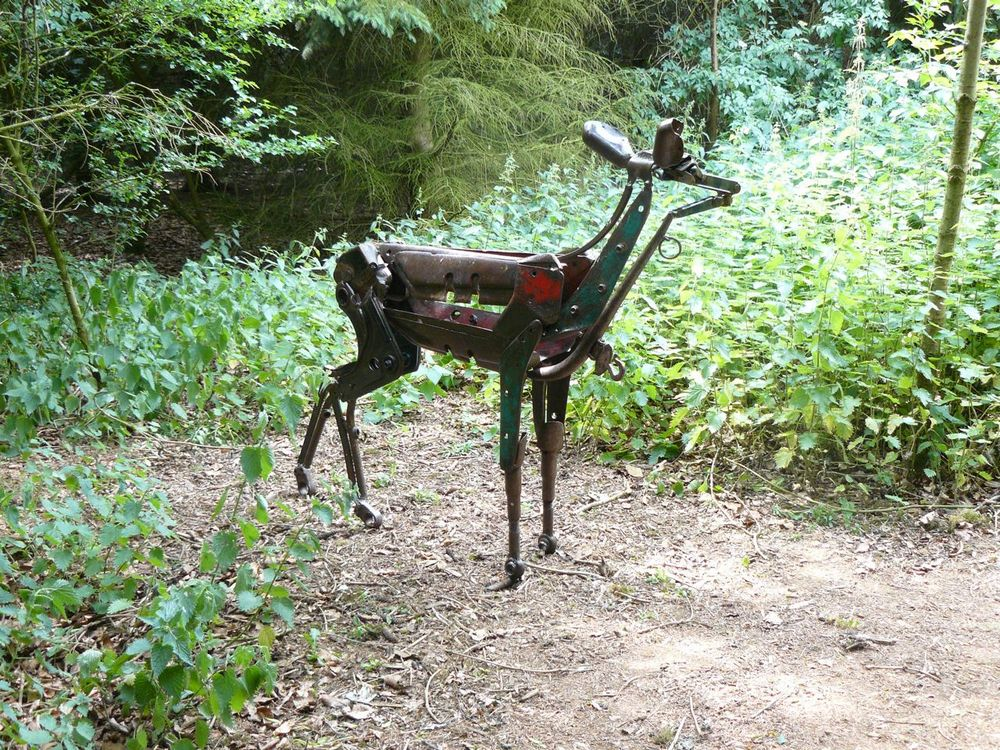 impala in the woods 2