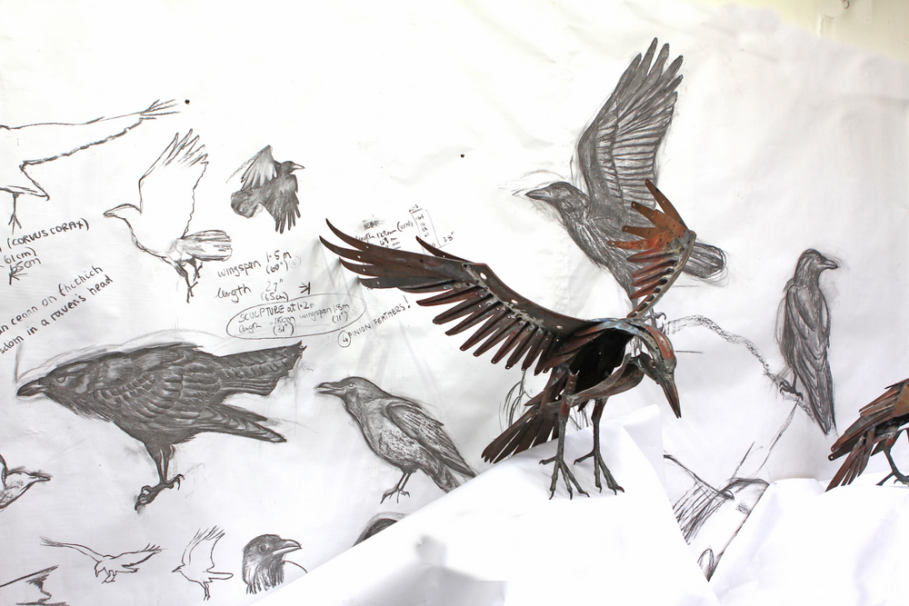 raven drawing 2